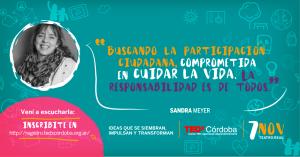 Flyer: TEDx Córdoba